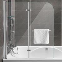 Duschabtrennung Dusche Badewannenaufsatz Faltwand ...
