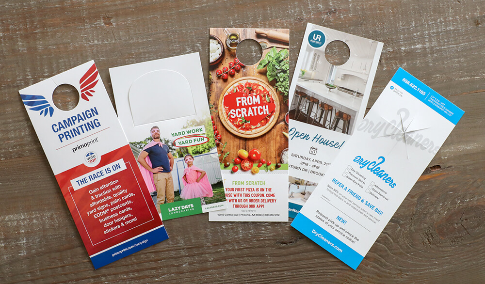 How to Advertise with Door Hangers + Free Samples Primoprint Blog