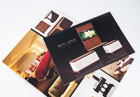 Brochures  Flyer Printing - 100LB Gloss Cover w/ Satin AQ Coating
