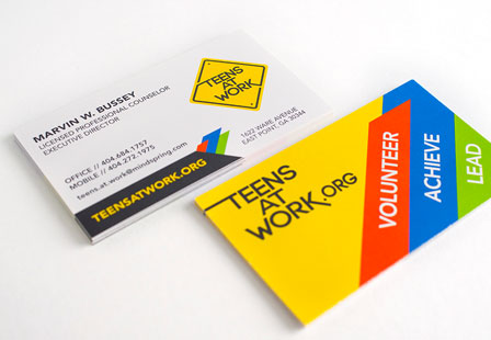 Uncoated Business Cards -14PT Card Stock Primoprint