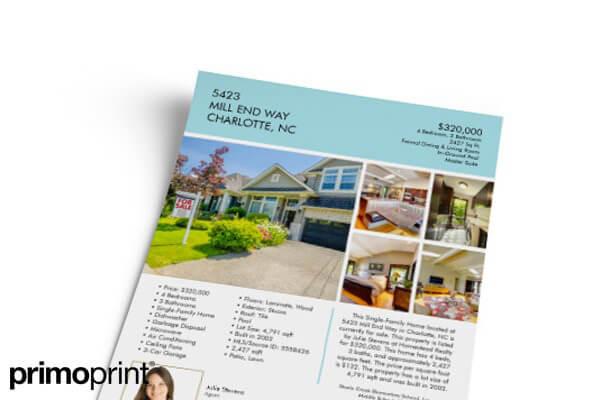 modern sell sheet design - Jolivibramusic - land for sale flyer