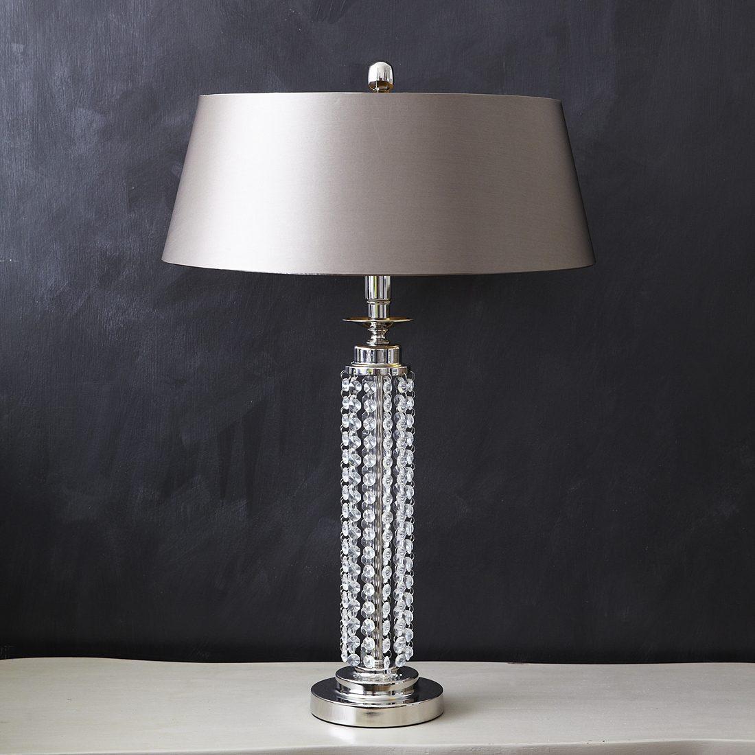 Wonderful Elegant Crystal Table Lamps &WW46