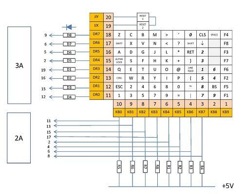 Keyboard Wiring Diagram - Somurich