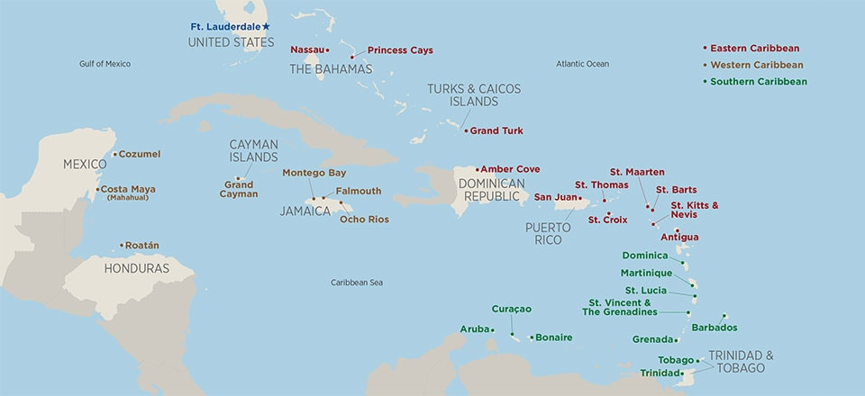 7-day Caribbean Cruises - Princess Cruises