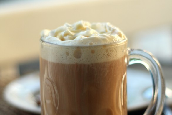 Caramel Vanilla Rooibos Chai Latte