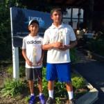 Boys 12's:  Adithya Ramkumar (c); Mihir Ram (f)