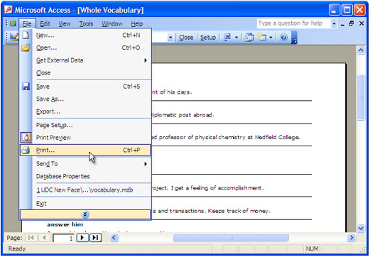 How to Convert Access Report to PDF - Universal Document Converter
