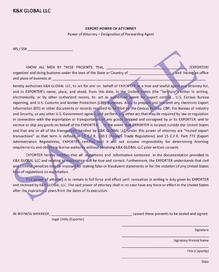 Power Of Attorney Sample Real Estate Forms - simple power of attorney form example