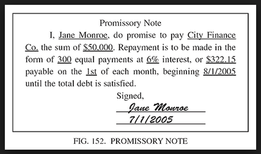 Free Legal Forms To Print Out – Simple Promissory Note Template