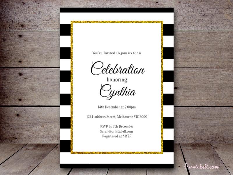 Editable Baby Shower Invitations \u2013 Printabell \u2022 Create