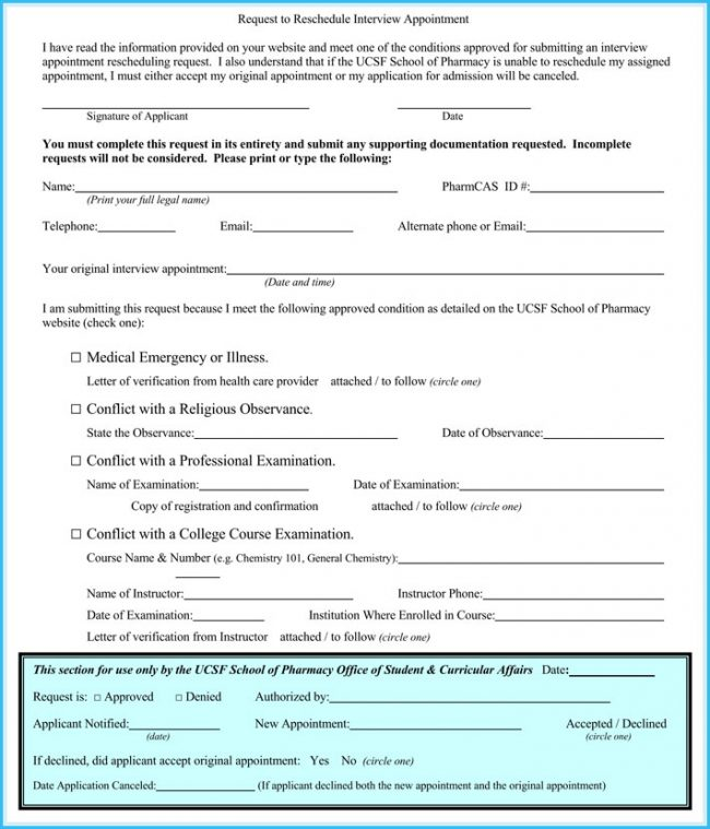 Interview Appointment Letter (7+ Sample Letters, Formats  Templates)