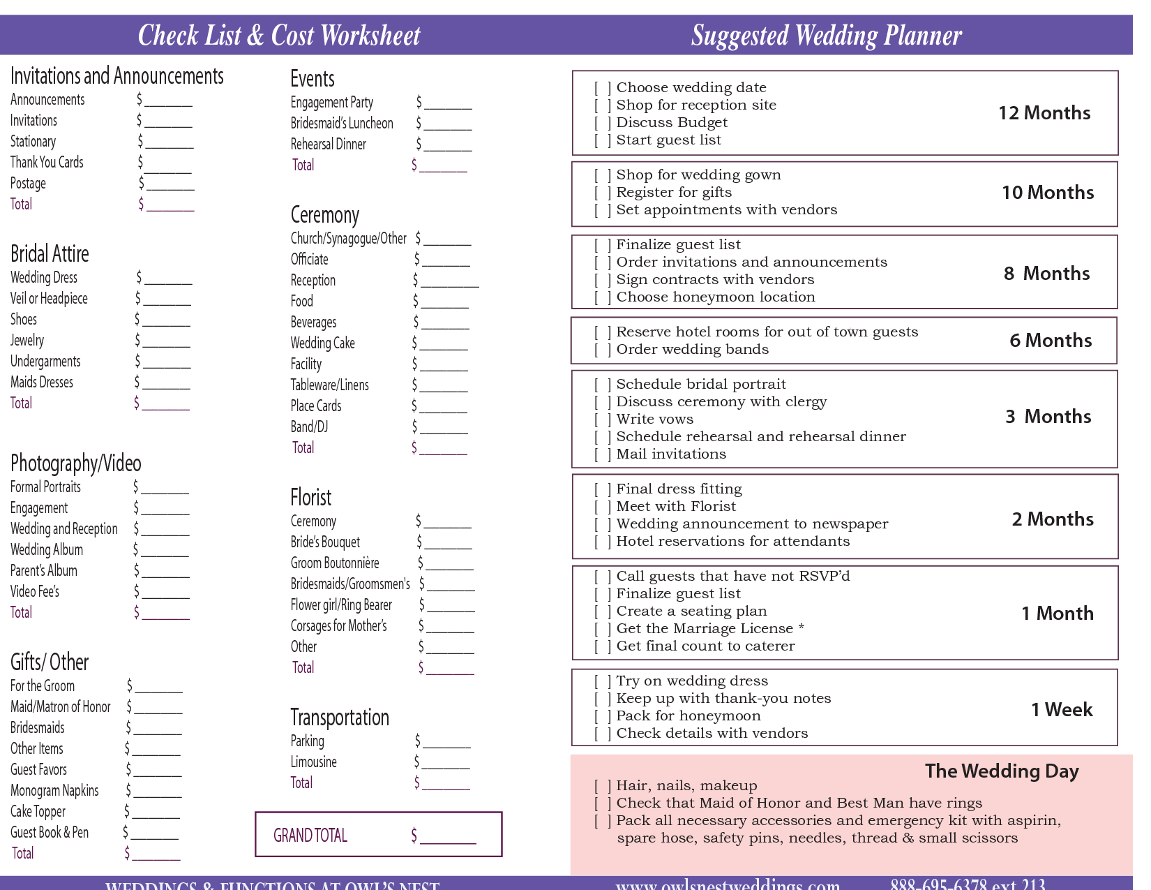 Funeral Checklist Template Uk