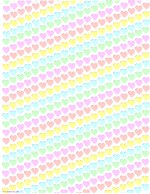 Free Printable Paper Hearts