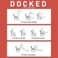 8 Best Images of Printable Chair Exercises - Senior Chair ...