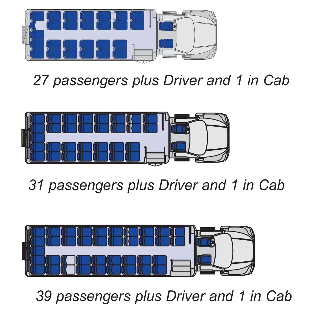 school bus dimensions diagram