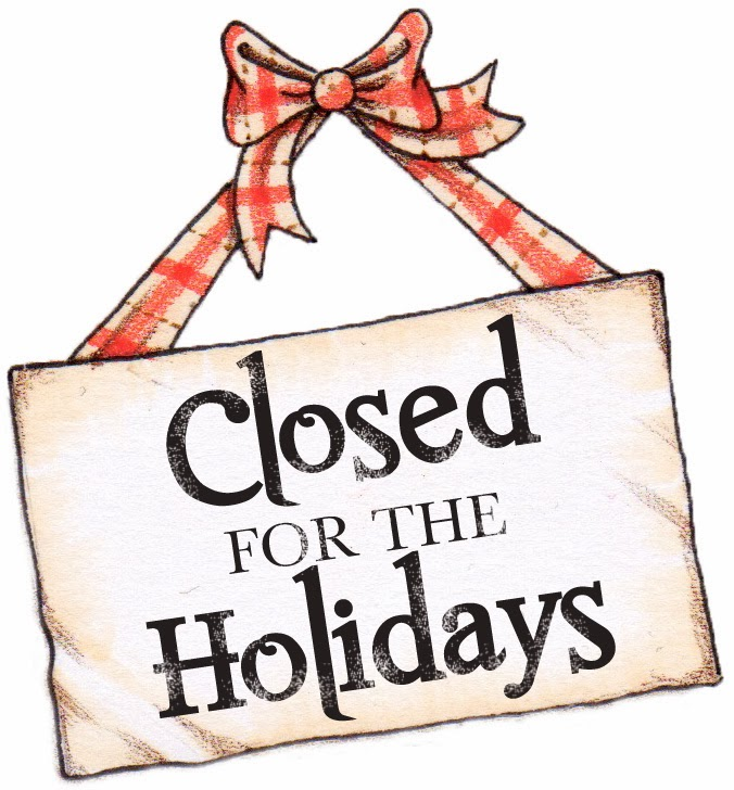 closed for holiday sign template