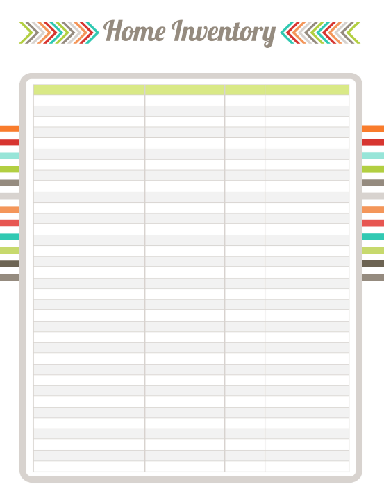 Doc561523 Free Inventory Sheets to Print Inventory – Free Printable Spreadsheets Blank