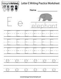 Worksheets For Pre K Alphabet - preschool alphabet ...
