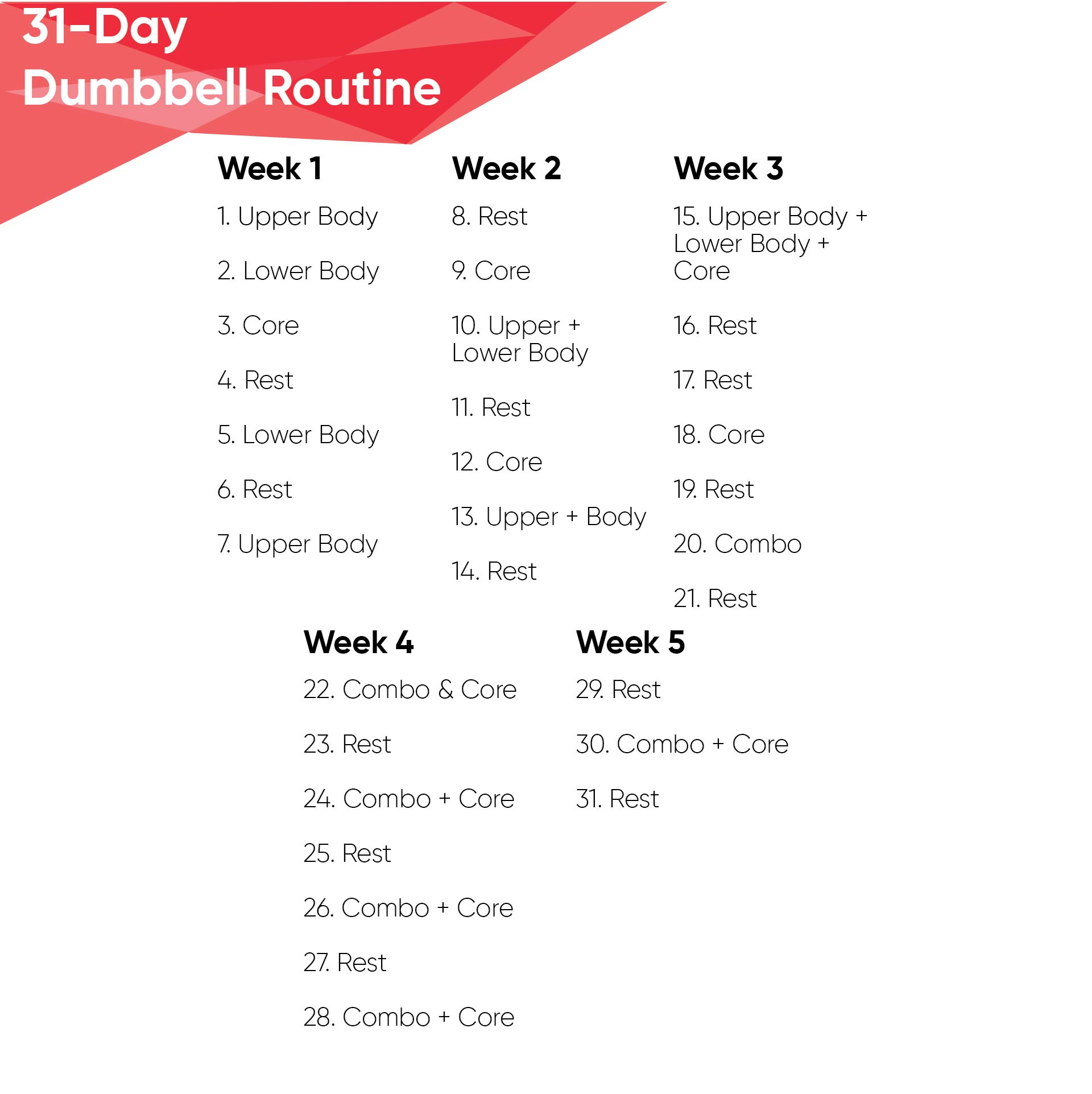 image relating to Dumbbell Workout Chart Printable named √ 7 Least complicated Pictures of Dumbbell Workout routines Chart Printable PDF