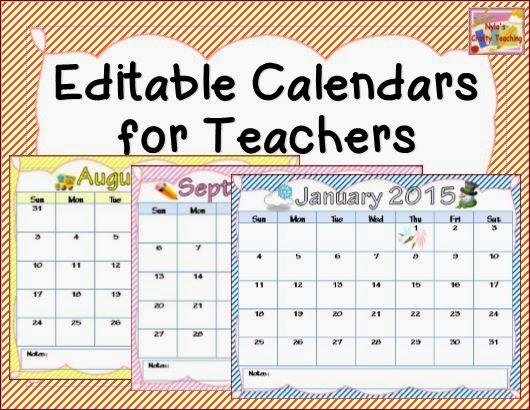 6 Best Images Of 2015 Printable Calendars For Teachers