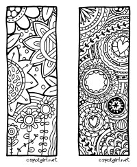 8 Best Images of Free Zentangle Printable Bookmarks To ...