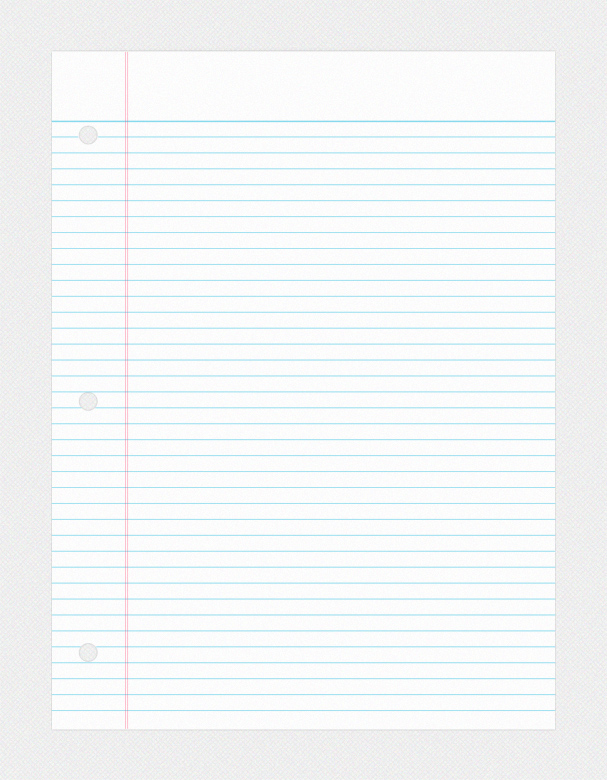 Doc.#24803508: Lined Page Template – Printable Lined Paper Jpg And