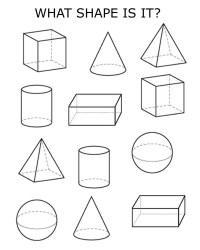 4 Best Images of Worksheets 3D Shapes Printable - Name 3D ...