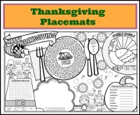 5 Best Images of Printable Placemats For Preschoolers ...