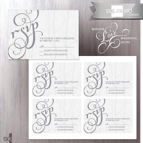 free printable rsvp cards - Roho4senses