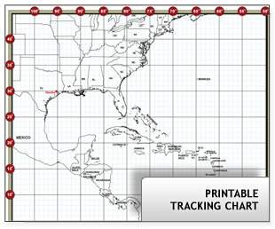 image regarding Printable Hurricane Tracking Maps called √ Printable Atlantic Hurricane Monitoring Chart Tropical