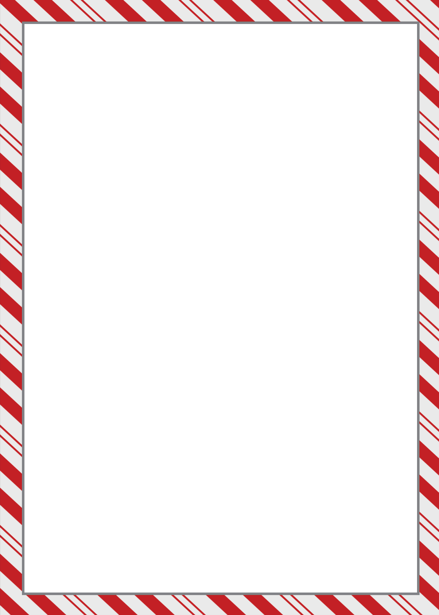 Holiday Memo Template Auto Electrical Wiring Diagram Ouku Th8829ga Wire Harness 8 Best Images Of Printable Candy Cane Borders