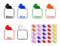 7 Best Images of Color- Matching Printables - Color ...