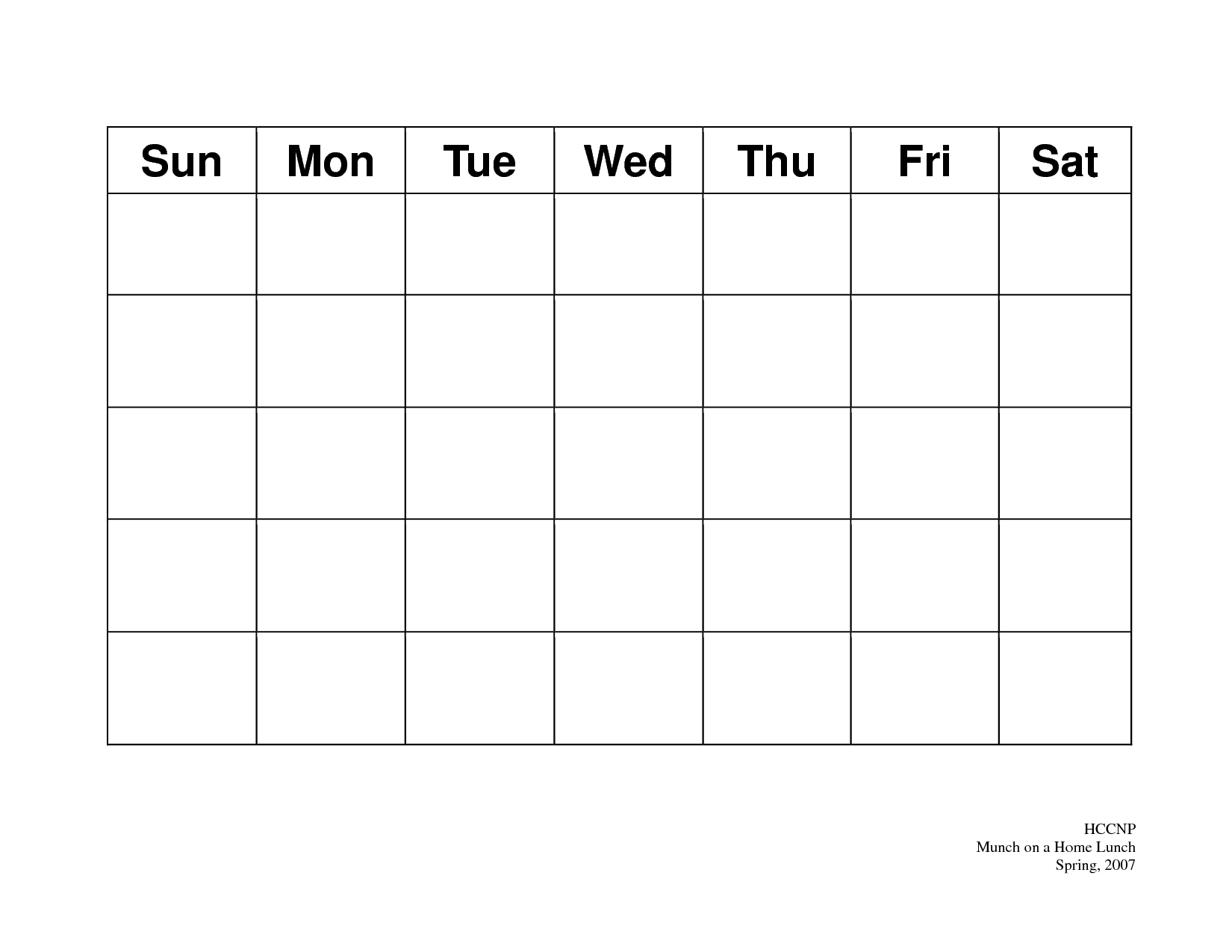 7 Day Schedule Template | Sample CV Service