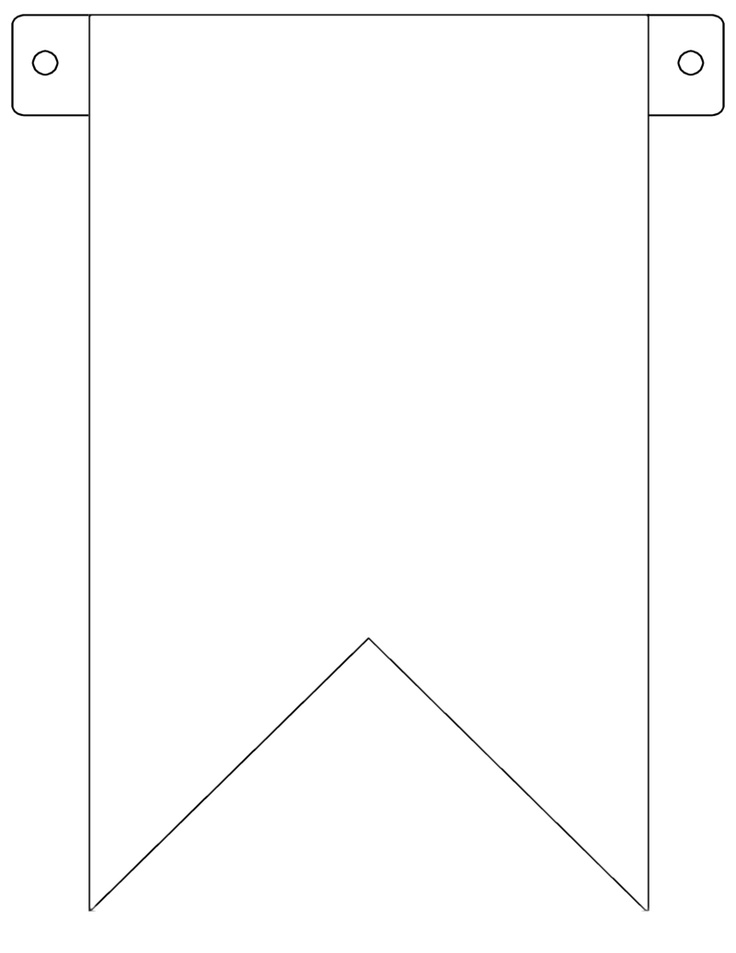 Flag Banner Template printable flags