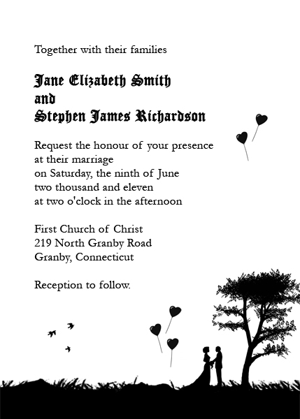 This is a good one! Maybe a different font? The reply cards are - invitation template nature