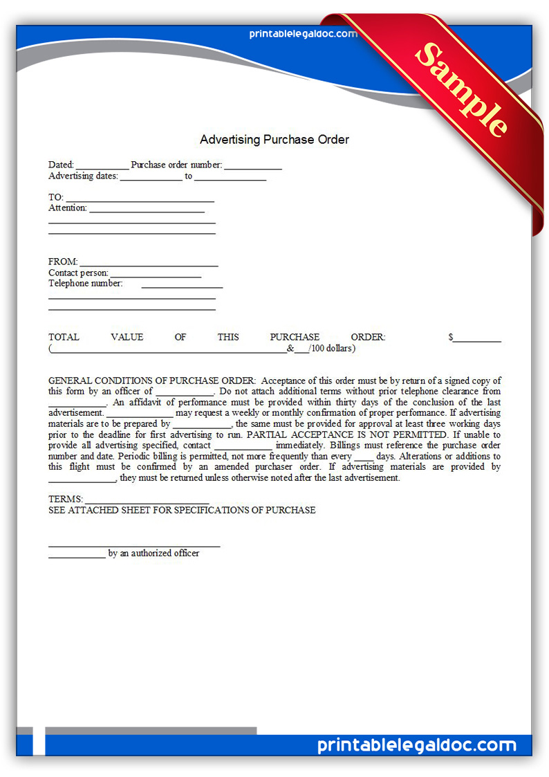 Joint Employment Agreement – Generic Purchase Order