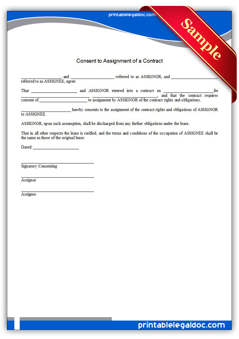 contract assignment language