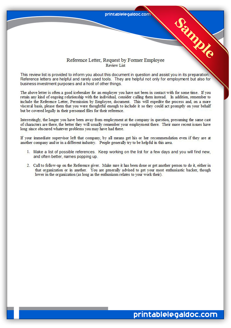 reference letter for bad employee printable employee recommendation reference letter sample