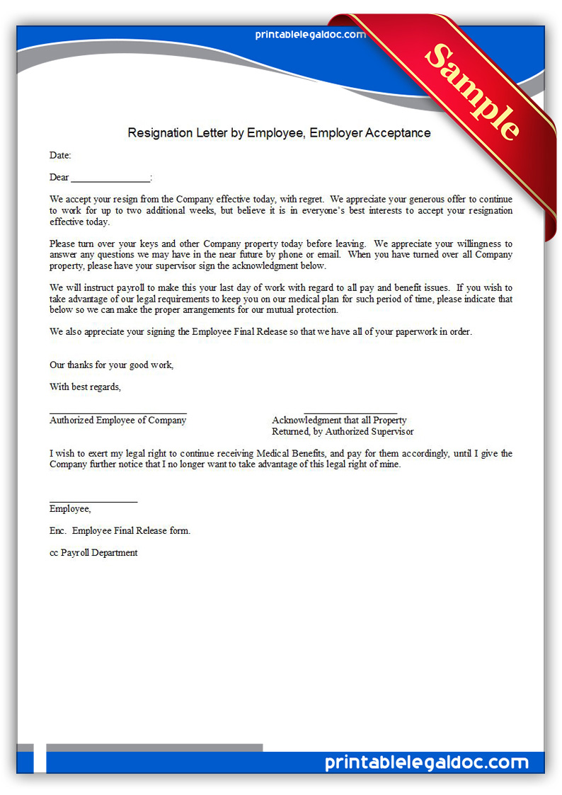 resignation acceptance letter in word format resume samples resignation acceptance letter in word format letter of resignation template resignation letter photo resignation form