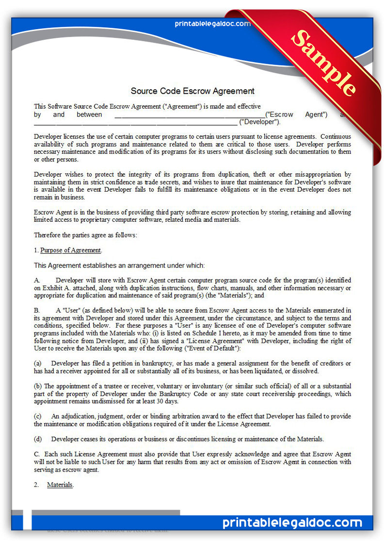 trade agreement template – Trade Agreement Template