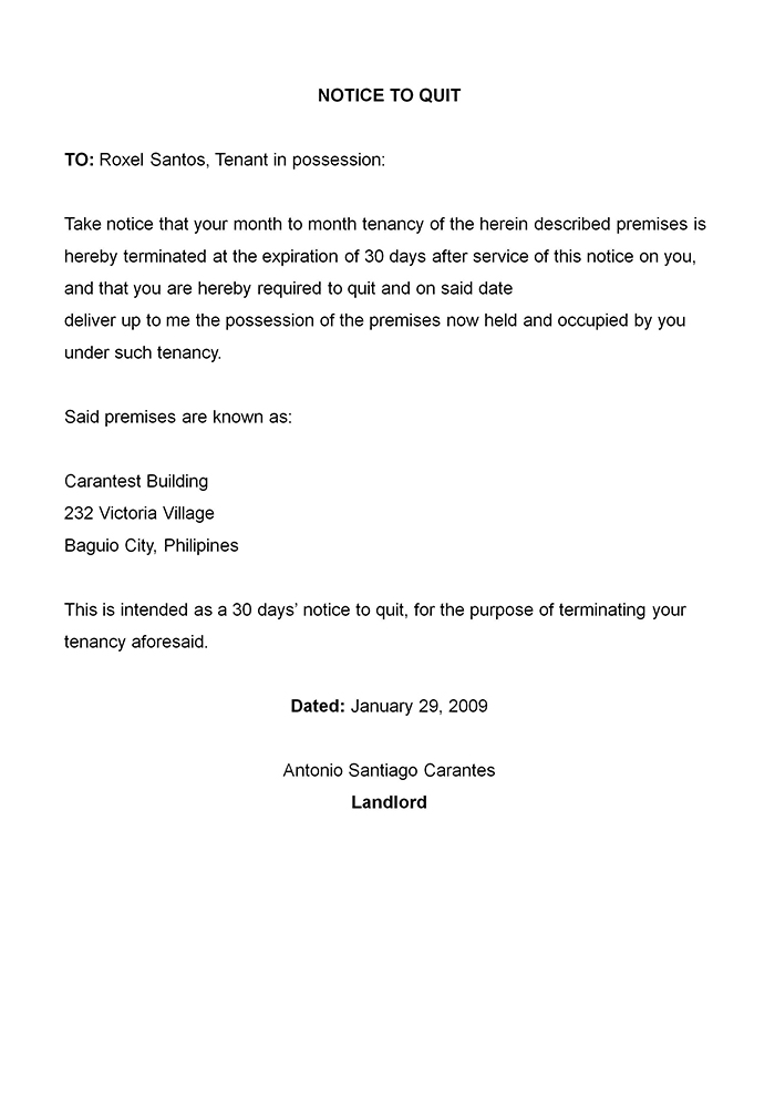 termination letters samples termination letter for employee ...