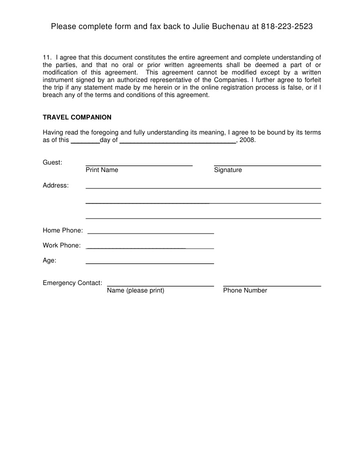 Liability Release Form Sample Release Of Liability Document Preview