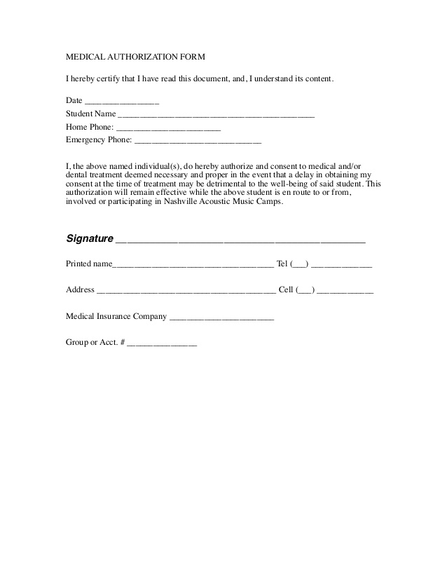 General Waiver Liability Form  General Waiver Liability Form