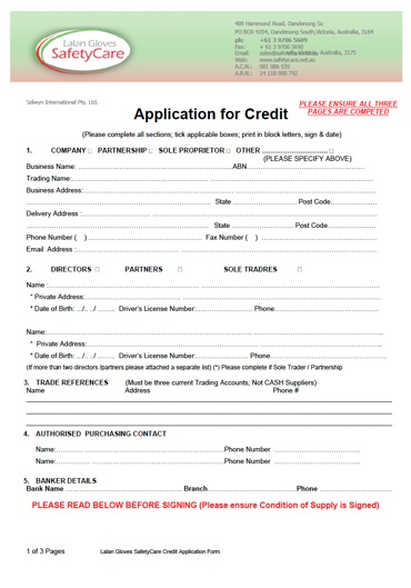 Care Credit Application Form | Jobs In Canada Hotels