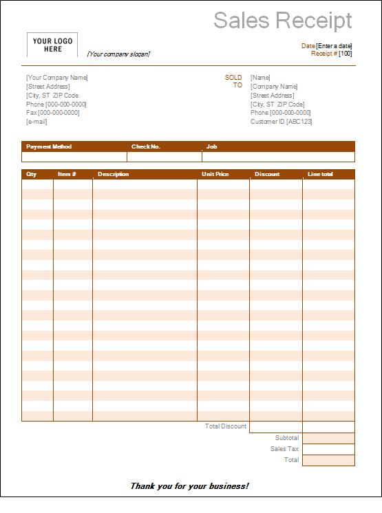 sales receipt style \u2013 bitcoinrush - free printable sales receipt