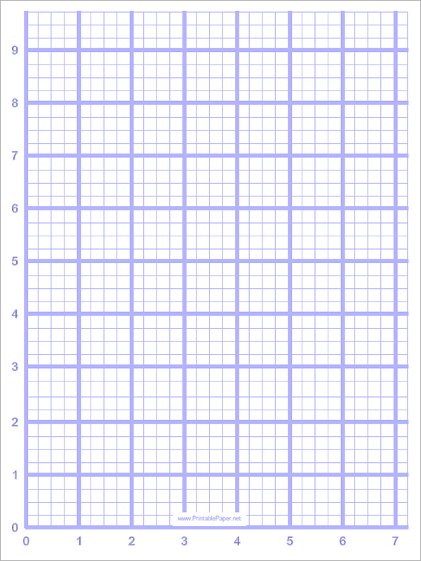 blank-graph-Graph Paper Templates - Graph Paper Template