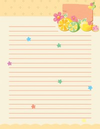 Paper stationary templates