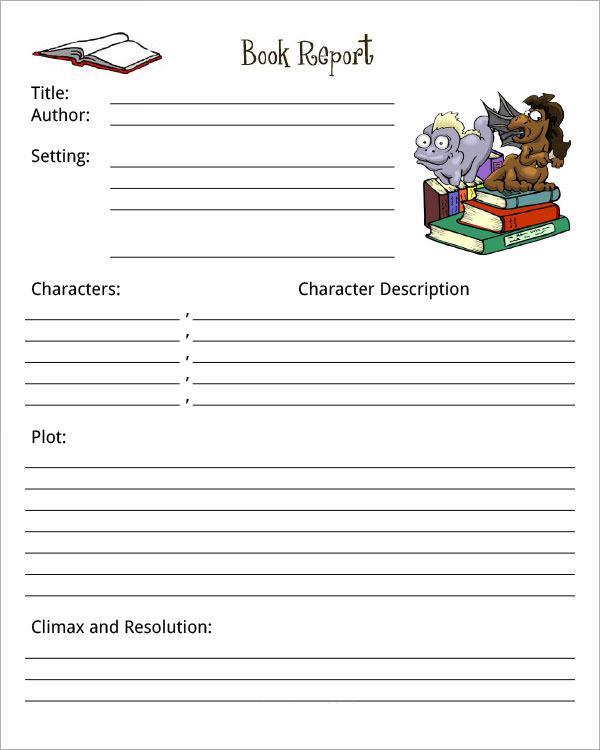 free-book-report-template-pdf