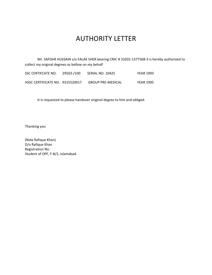 Consent Letter Sample Templates Print Paper Templates - sample medical authorization letter
