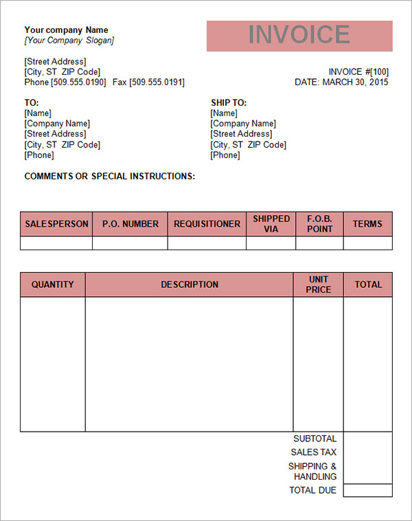 Printable-Tax-Invoice-Template-Word-pdf - address template for word